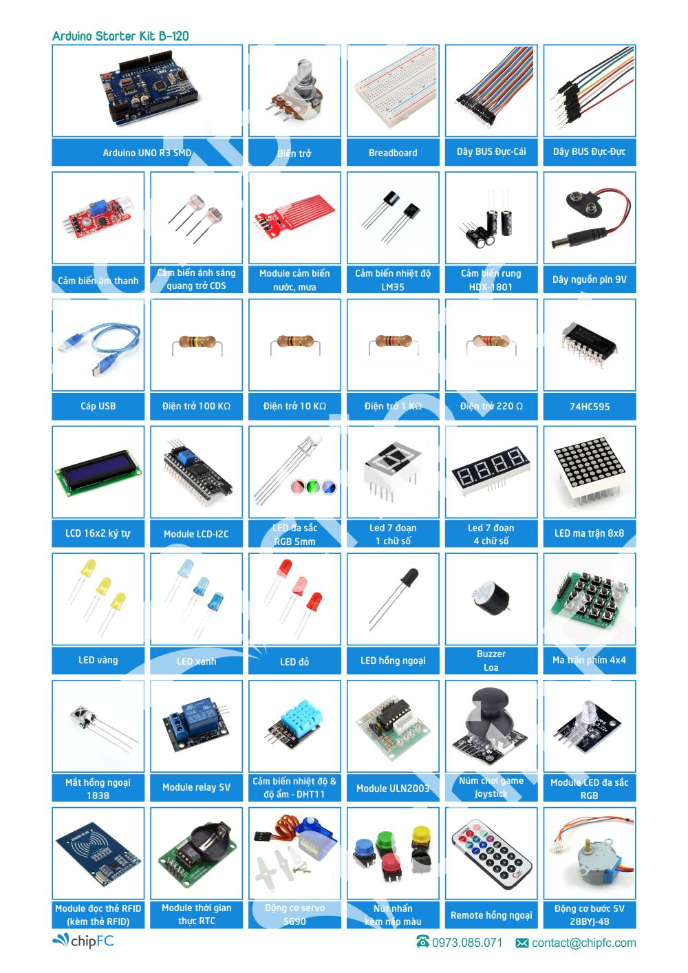 Arduino Starter Kit B-120